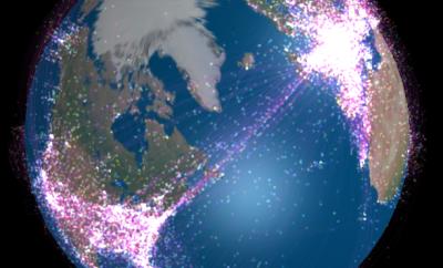 glitter air traffic