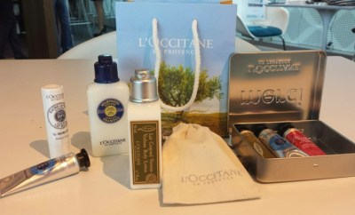 AMEX Centurion Lounge L'Occitane Freebies