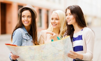 Friends Travel Partner Map