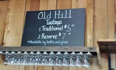 Old Hill Cider Timberville VA tasting fee
