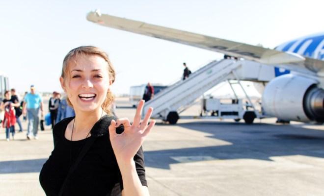 cheap airfares outdoor plane boarding