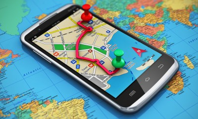 data roaming smart phone map