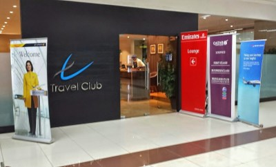 Chennai Airport Lounge Travel Club Entrance