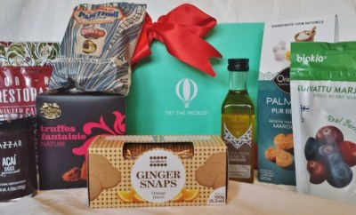 Try the World Review Holiday Box contents