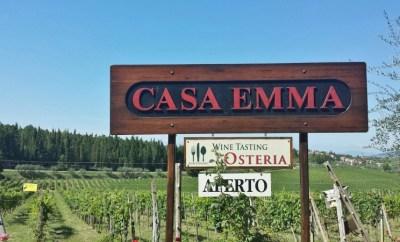 Casa Emma Chianti Tuscany sign