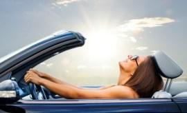convertible rental car