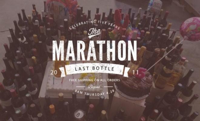 last bottle marathon april