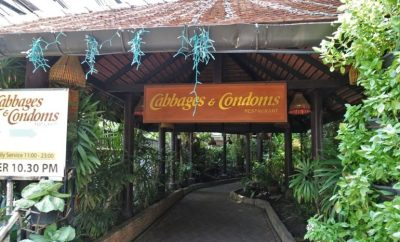Cabbage and Condoms Bangkok Restaurant Review Entrance