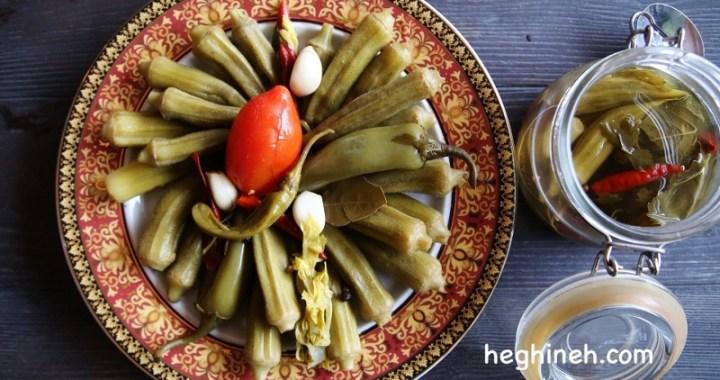 Pickled Okra Recipe - Pickled Vegetables