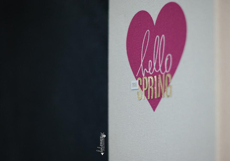 hello spring :: keeping it simple | Instax | @MaggieWMassey for @HeidiSwapp