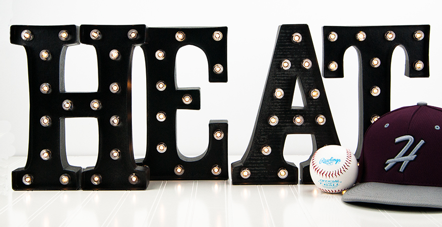 "10"" Marquee Love :: It's Baseball Season! 
