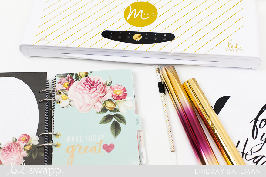 Use The MINC In Your Planner I A Tutorial @lindsaybateman for @heidiswapp