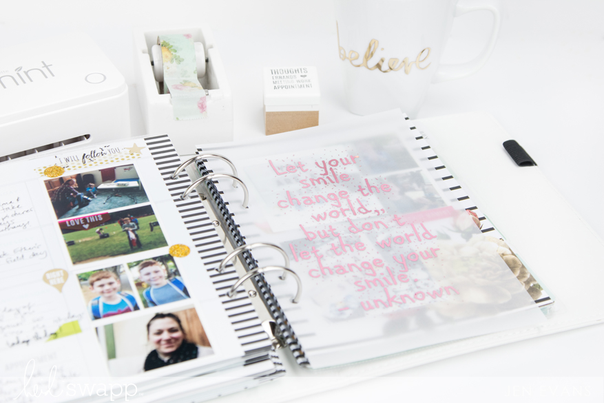 The @heidiswapp Minc is now in Paper Source! Free planner printable by @createoften