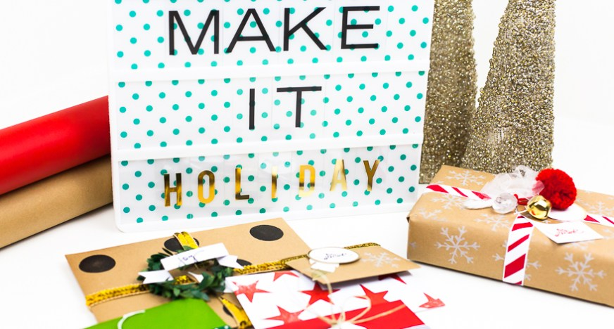 DIY Gift Wrap Create Custom Holidayfeature Envelopes (1 of 1)