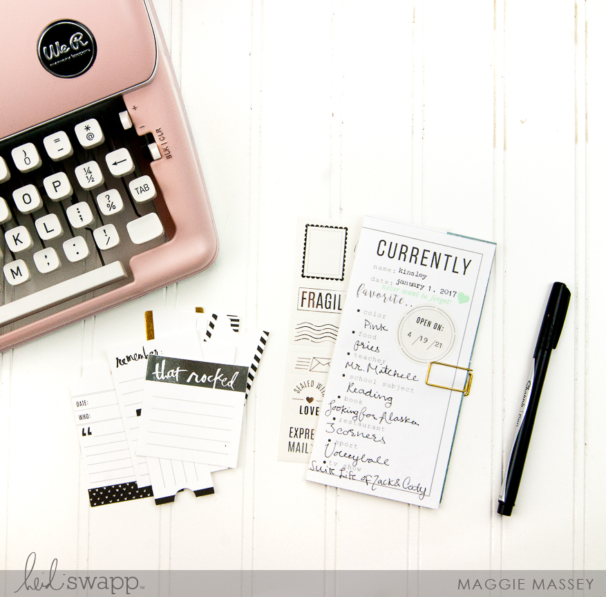 Documenting Your NOW :: Heidi Swapp Time Capsule   @MaggieWMassey for @HeidiSwapp