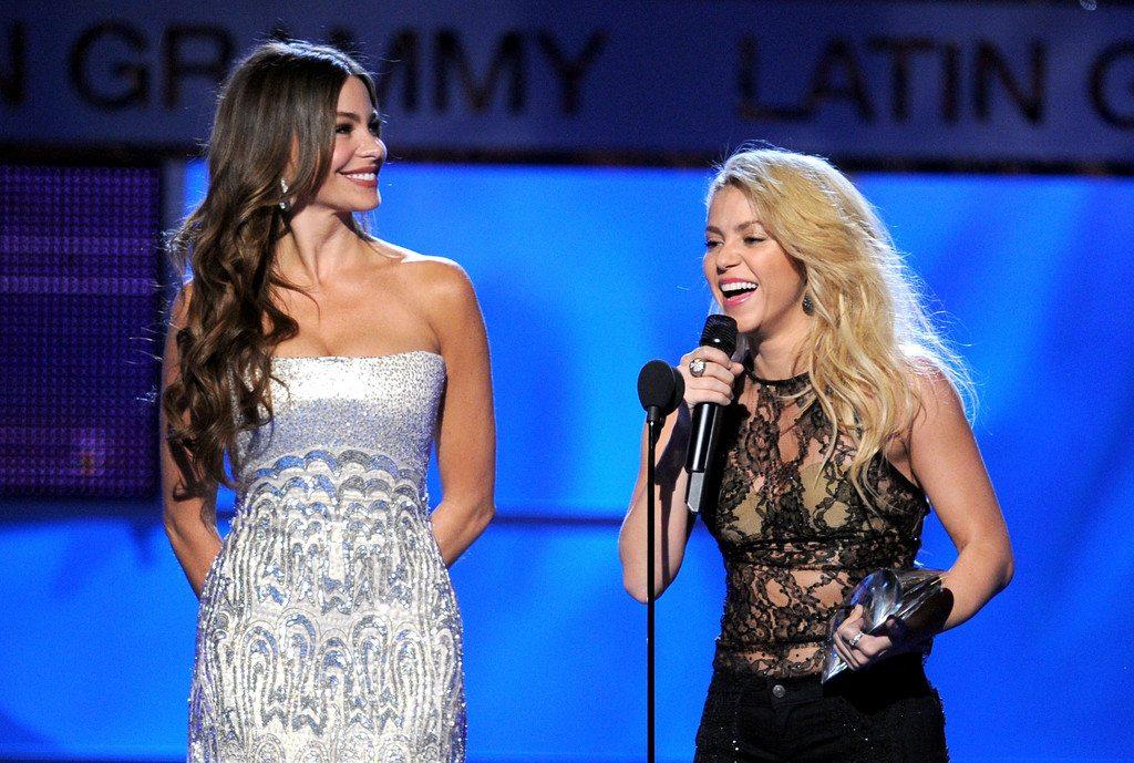 Shakira's height 7
