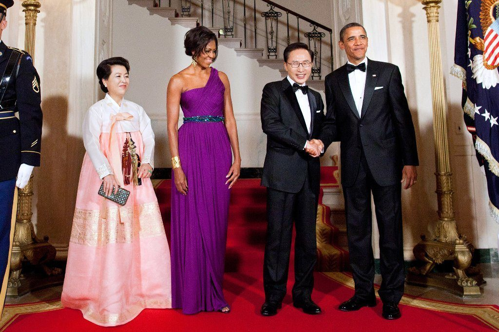 Michelle Obama's height 3