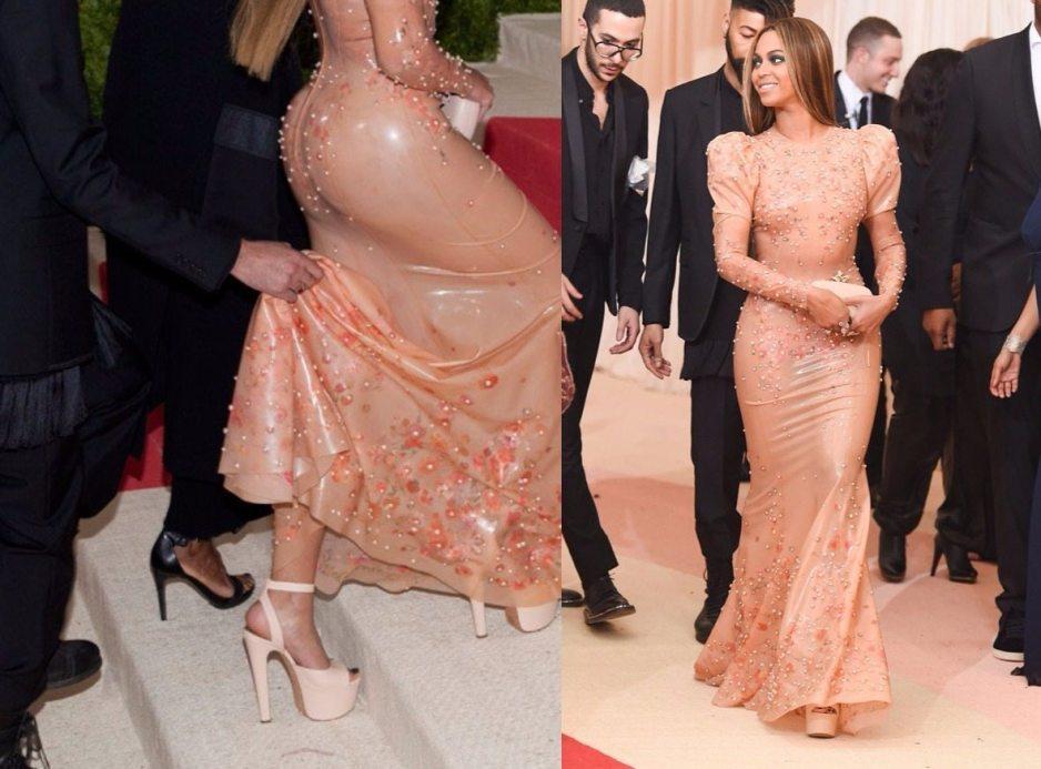 Beyonce Met gala 2016 shoes