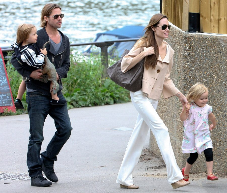 Angelina Jolie's children twins
