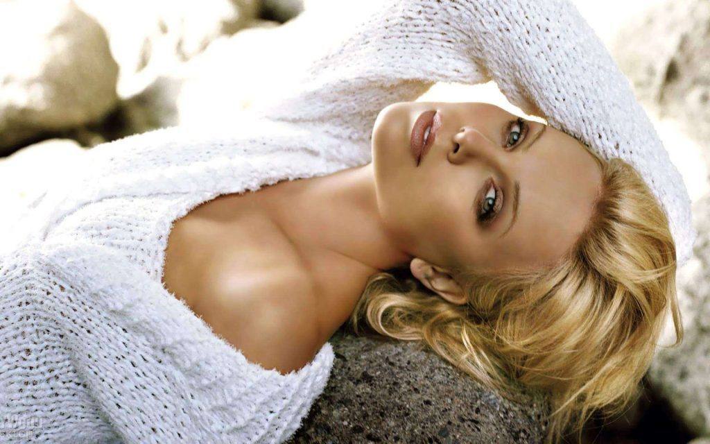 Charlize Theron's height 1