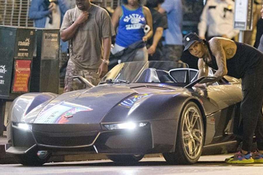Chris Brown Car 1