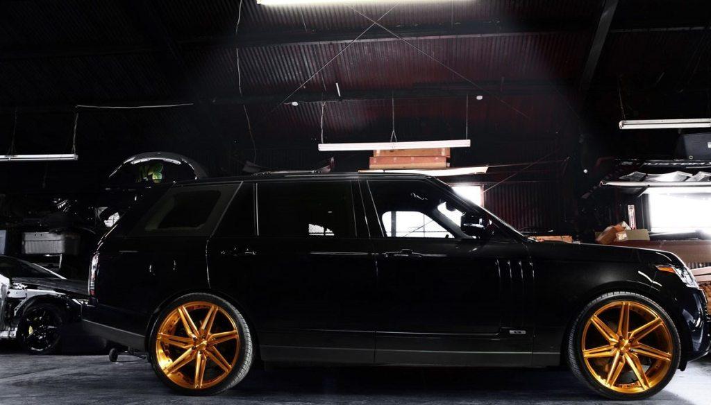 Chris Brown Range Rover