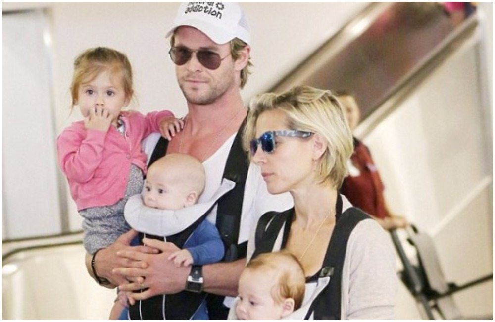 Chris Hemsworth's family