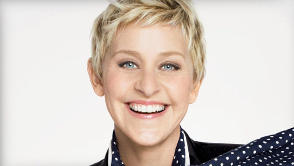 Ellen DeGeneres height 1