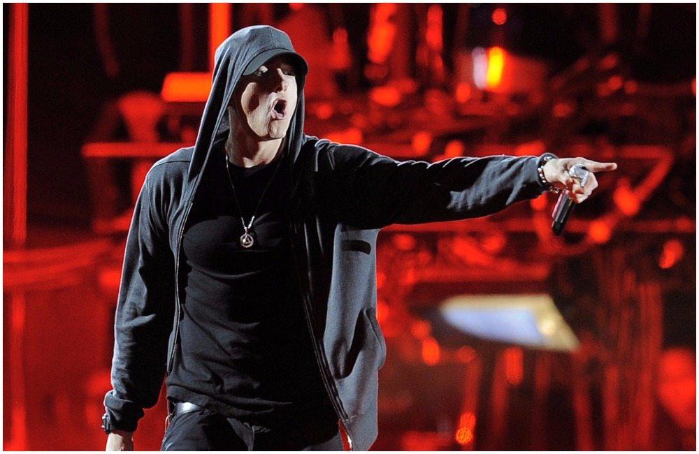 Eminem's height 7