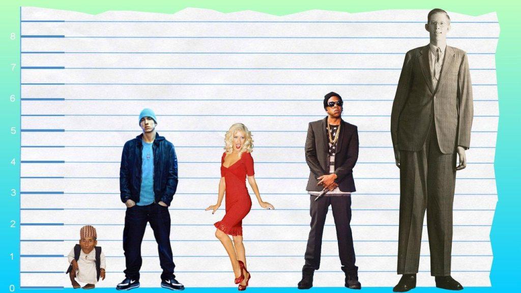 Eminem's height 3
