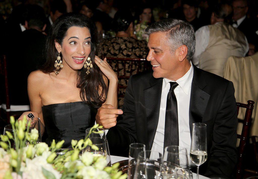 George Clooney's wife 6