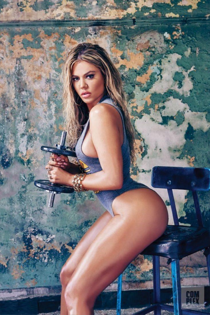 Khloe Kardashian fitness