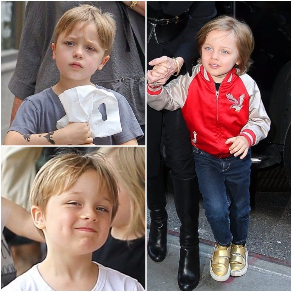 Brad Pitt's children knox
