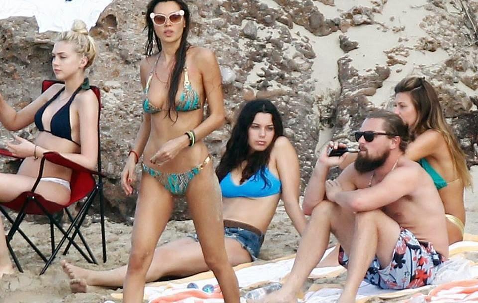 Leonardo DiCaprio's wife women