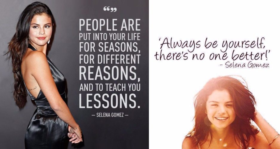 Selena Gomez Quotes