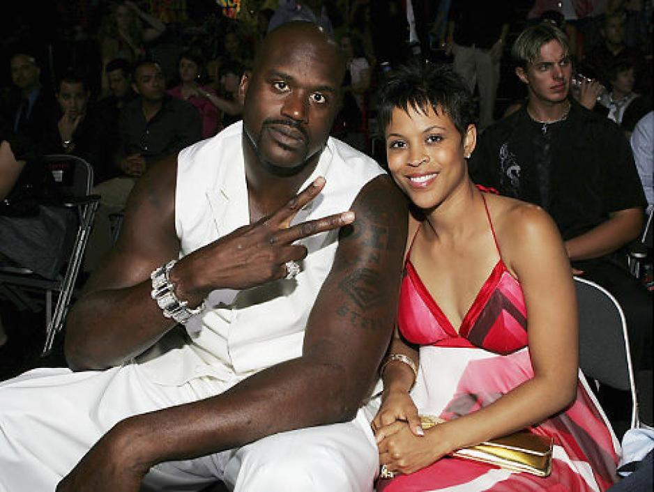 Shaquille O'Neal and ex wifeshaunie