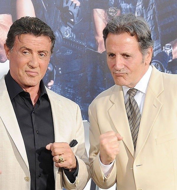 Sylvester And Brother, Frank Stallone