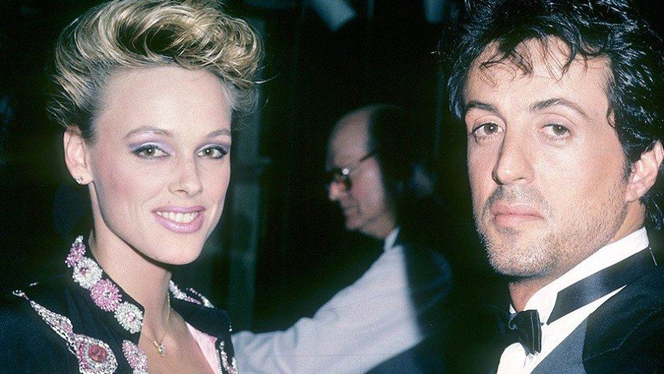 Sylvester Stallone and Brigitte Nielsen