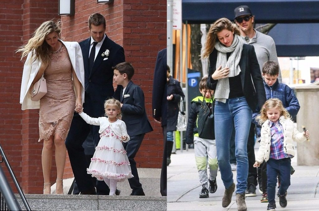 Tom Brady Kids Family