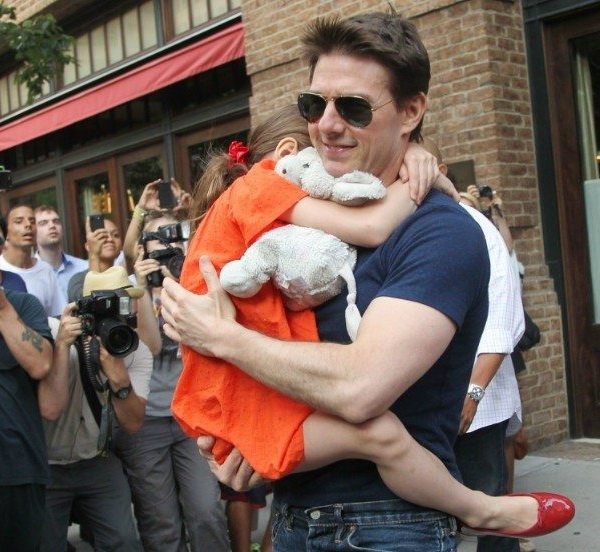 Tom Cruise and Suri 2