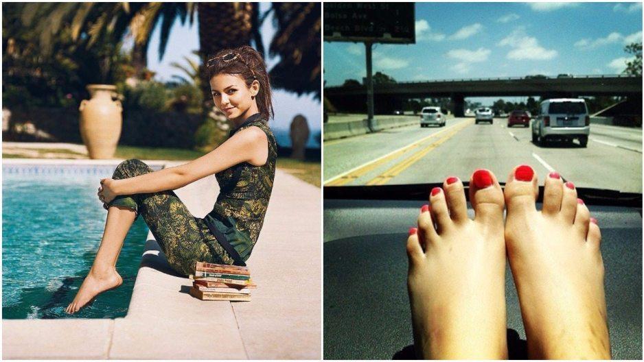 Victoria Justice Feet