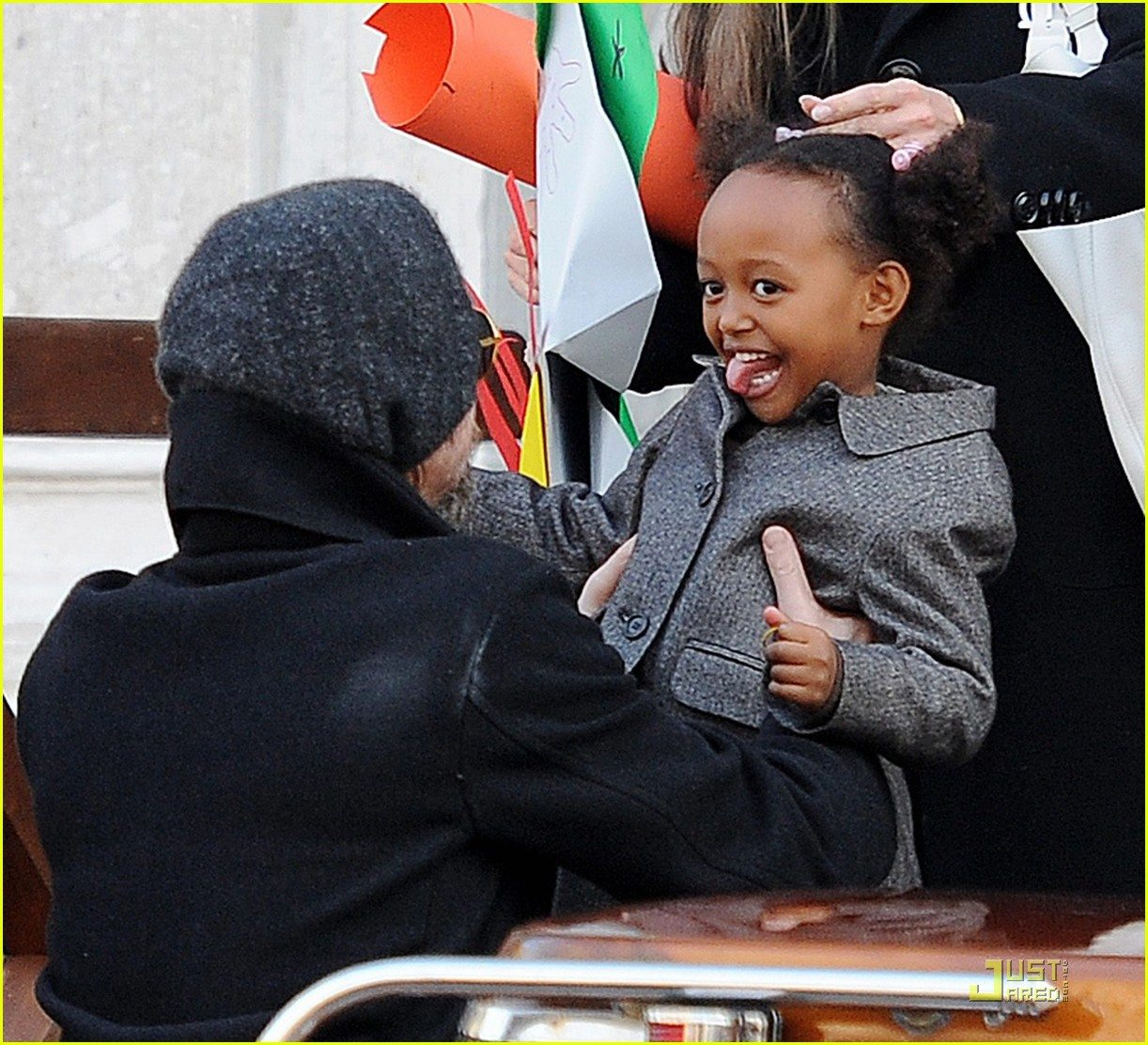 Zahara Angelina Jolie's children