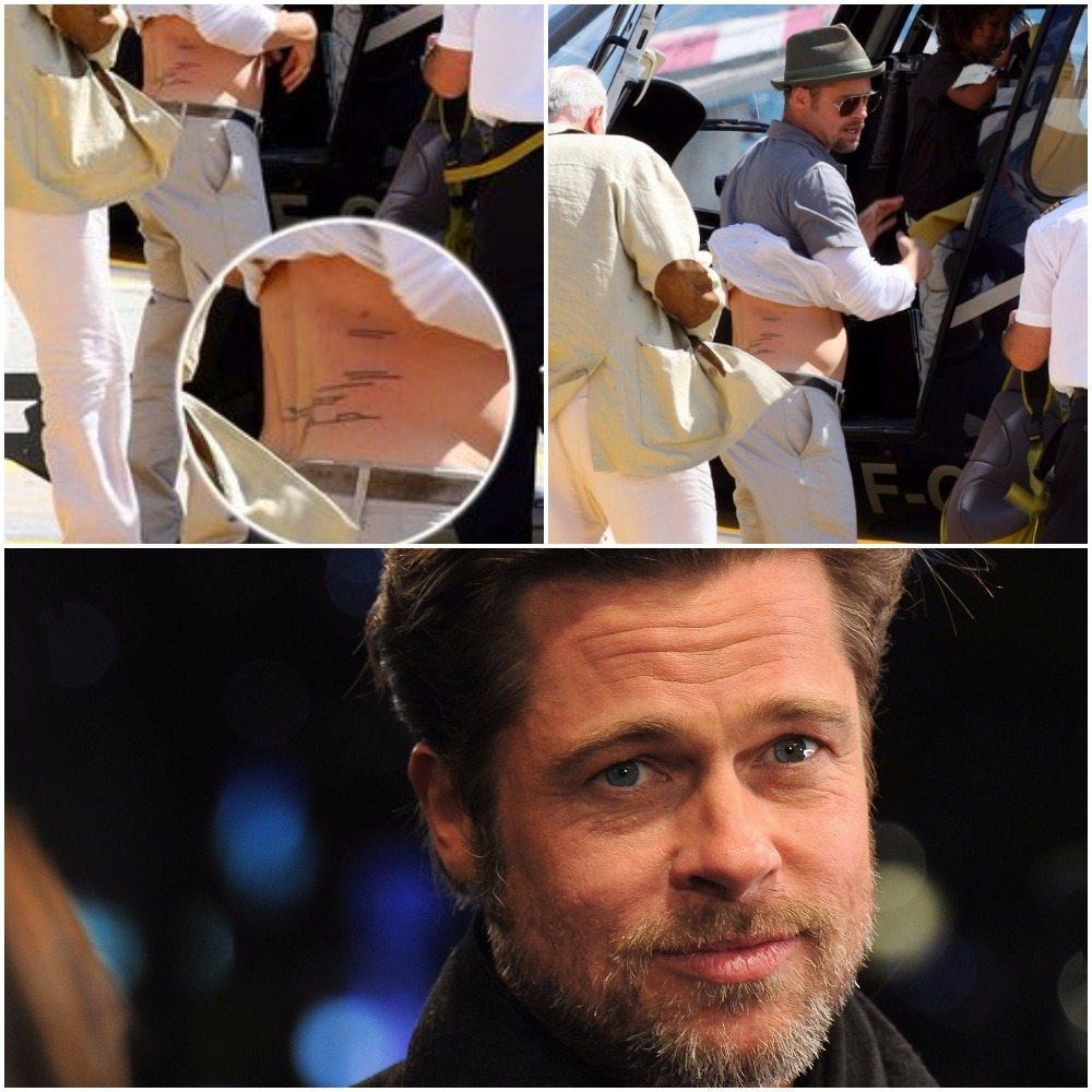 Brad Pitt's tattoos