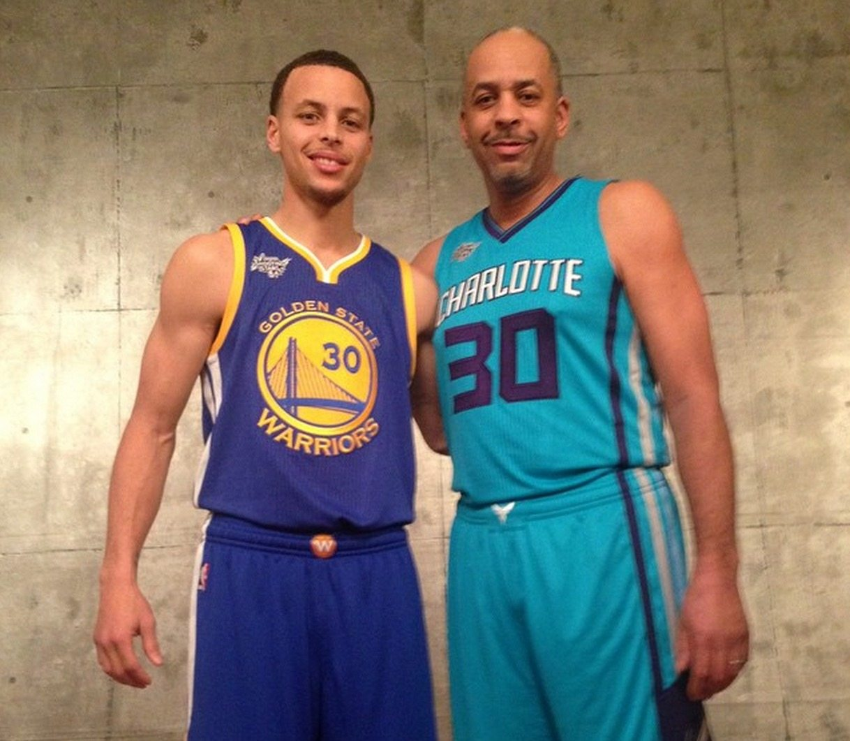 Stephen Curry's height dad