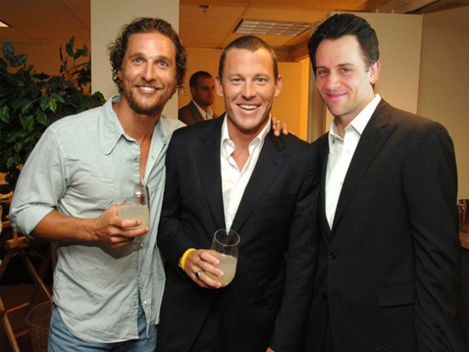 Matthew McConaughey's height