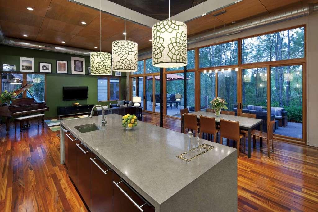 Wiz Khalifa's house kitchen