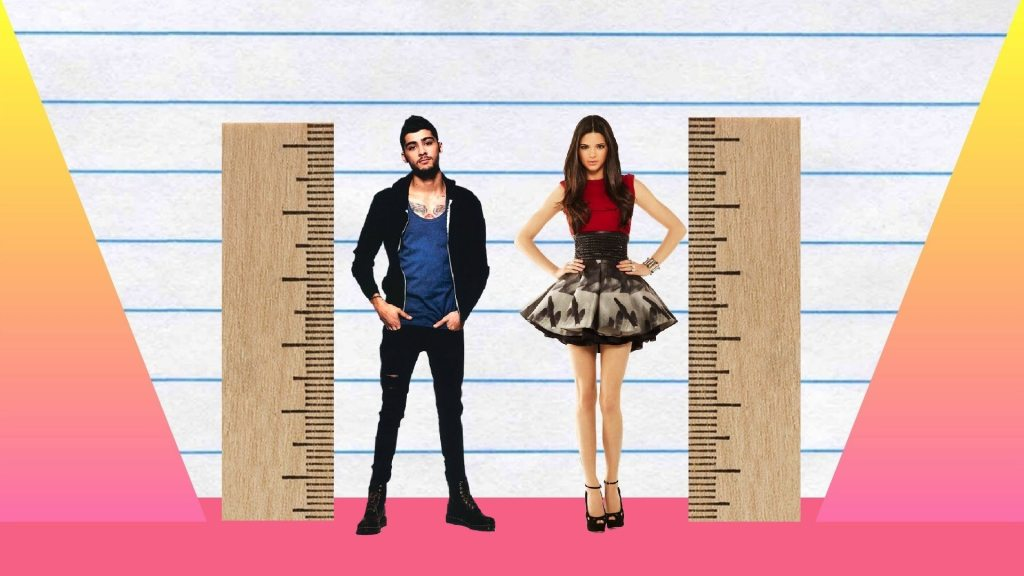 Zayn Malik's height 3