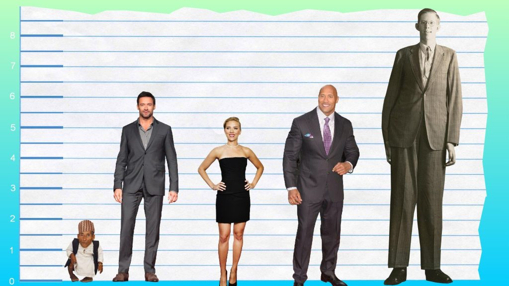 Hugh Jackman's height 3