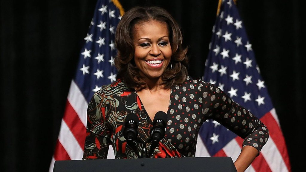 Michelle Obama's height 1