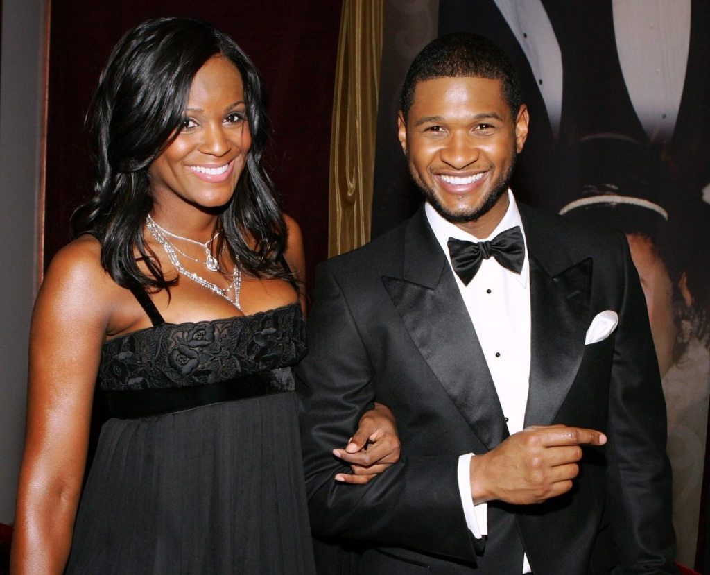 Usher married 1
